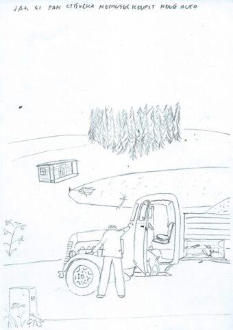 Jak si pan Střecha nemusel koupit nové auto