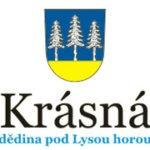 logo obce Krásná