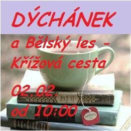 2020-02-02 Literárně-čajový dýchánek a nová Křížová cesta v Bělském lese