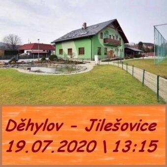 19.07.2020 Pěší výlet z Děhylova, kolem řeky Opavy, do Jilešovic,